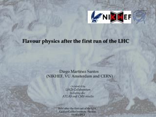 Flavour physics after the first run of the LHC