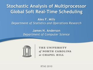 Stochastic Analysis of Multiprocessor Global Soft Real-Time Scheduling