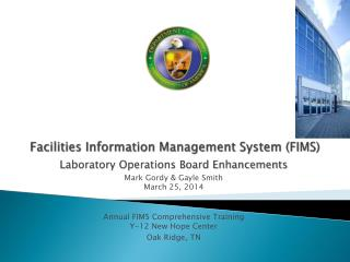 Facilities Information Management System (FIMS)