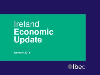 Ireland  Economic Update
