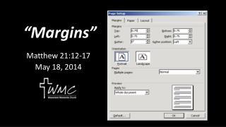 """""""Margins"""""""