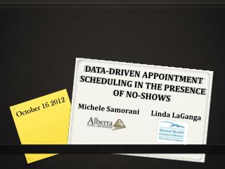 DATA-DRIVEN APPOINTMENT SCHEDULING IN THE PRESENCE OF NO-SHOWS