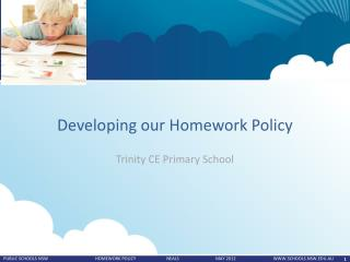 Developing our Homework Policy