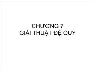 CHUONG 7 GII THUT   QUY