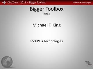 Bigger Toolbox part 2
