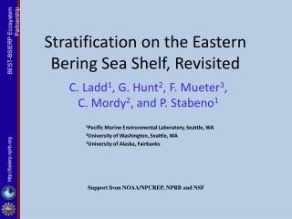 Stratification on the Eastern Bering Sea Shelf, Revisited