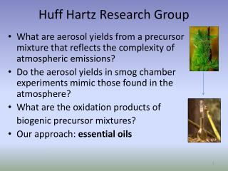 Huff Hartz Research Group