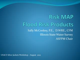 Risk MAP  Flood Risk Products