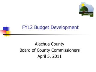 FY12 Budget Development