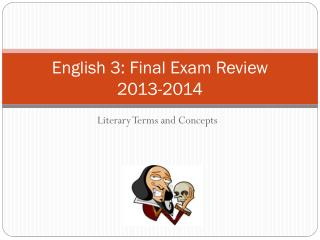 English 3: Final Exam Review 2013-2014