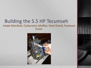 Building the 5.5 HP Tecumseh