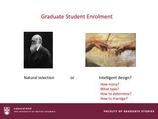 Graduate Student Enrolment