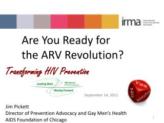 Are You Ready for  the ARV Revolution?