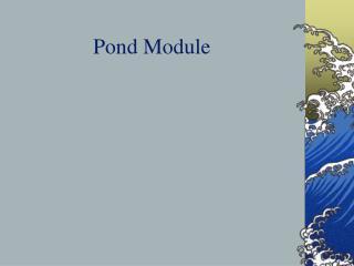 Pond Module