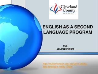 CCS ESL Department