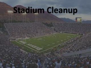 Stadium Cleanup
