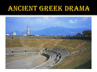 Ancient Greek Drama