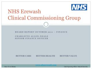 NHS Erewash  Clinical Commissioning Group