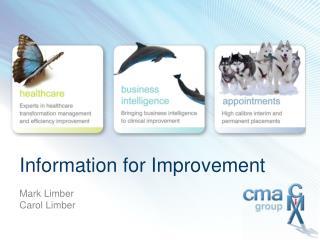 Information for Improvement