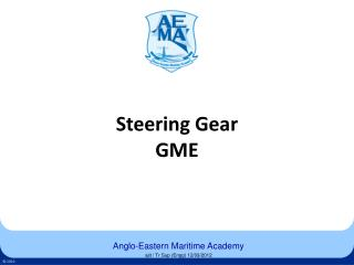 Steering Gear GME