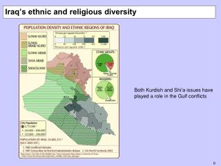 Iraq's ethnic and religious diversity