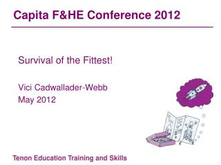 Capita F&HE Conference 2012