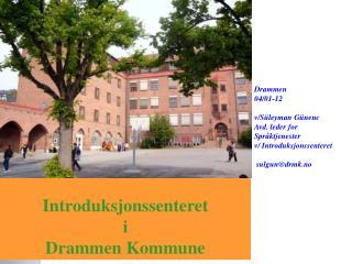 Introduksjonssenteret i Drammen Kommune