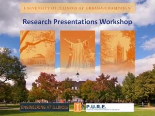 Research Presentations Workshop
