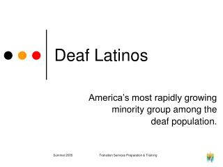 Deaf Latinos