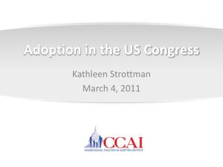 Adoption in the US Congress