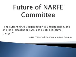 Future of NARFE Committee