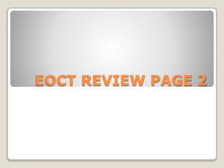 EOCT REVIEW PAGE 2
