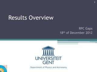 Results Overview