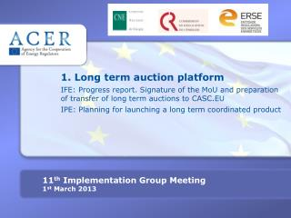 1. Long term auction platform