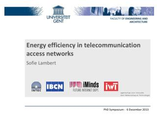 Energy efficiency in telecommunication  access networks