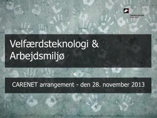 CARENET arrangement  -  den 28 .  november  2013