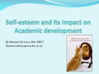 Self-esteem and its Impact on Academic development
