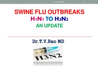 SWINE FLU OUTBREAKS H1N1  to  H3N2 an Update