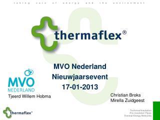 MVO Nederland  Nieuwjaarsevent 17-01-2013