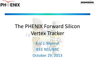 The PHENIX Forward Silicon Vertex Tracker