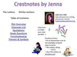 Crestnotes by Jenna