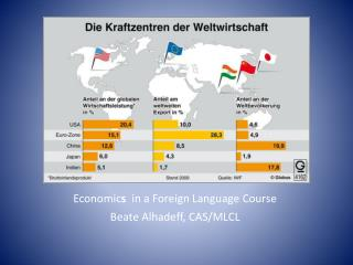 Economic s   in a Foreign Language Course