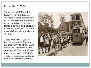 CHILDREN AT WAR