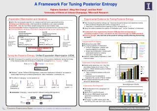 Standard EM/ Posterior Regularization  ( Ganchev  et al, 10)