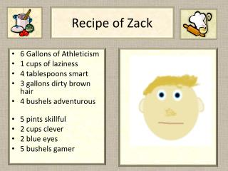 Recipe of Zack