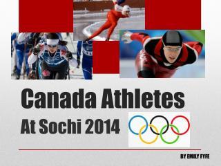 Canada Athletes