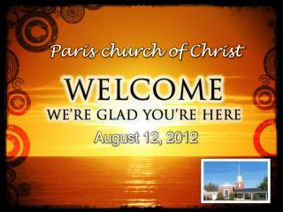 Paris church of Christ