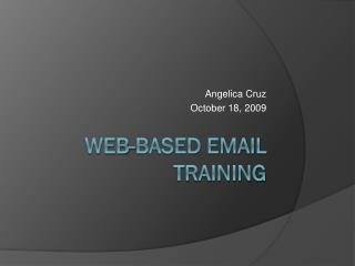 Web-Based Email Training
