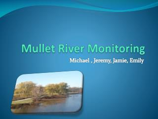 Mullet River Monitoring
