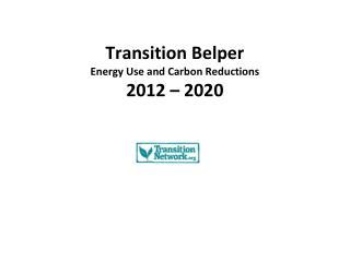 Transition Belper Energy Group